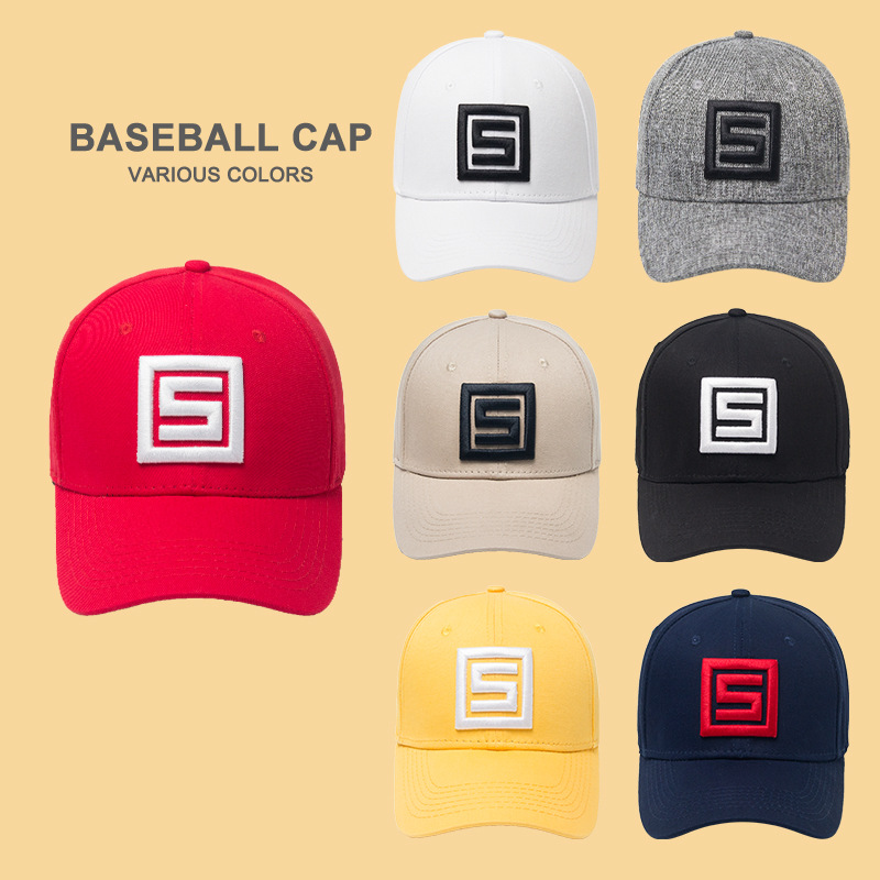 3D Embroidery logo 6 Panels Baseball Cap