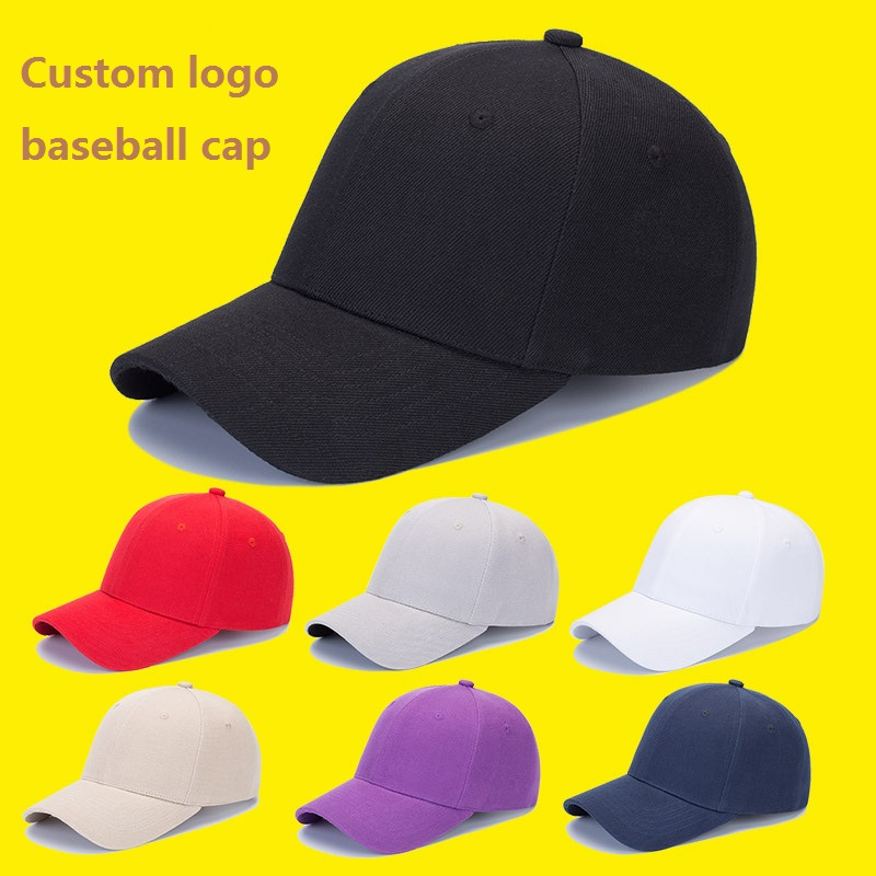 3D Embroidery logo Cotton Twill 6 Panels Baseball Cap