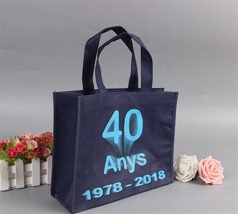 Horizontal type Non Woven Tote Shopping Bag