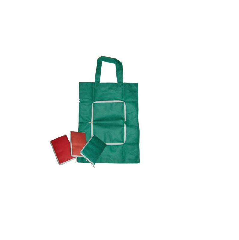 Folded Non Woven Tote Shopping Bag