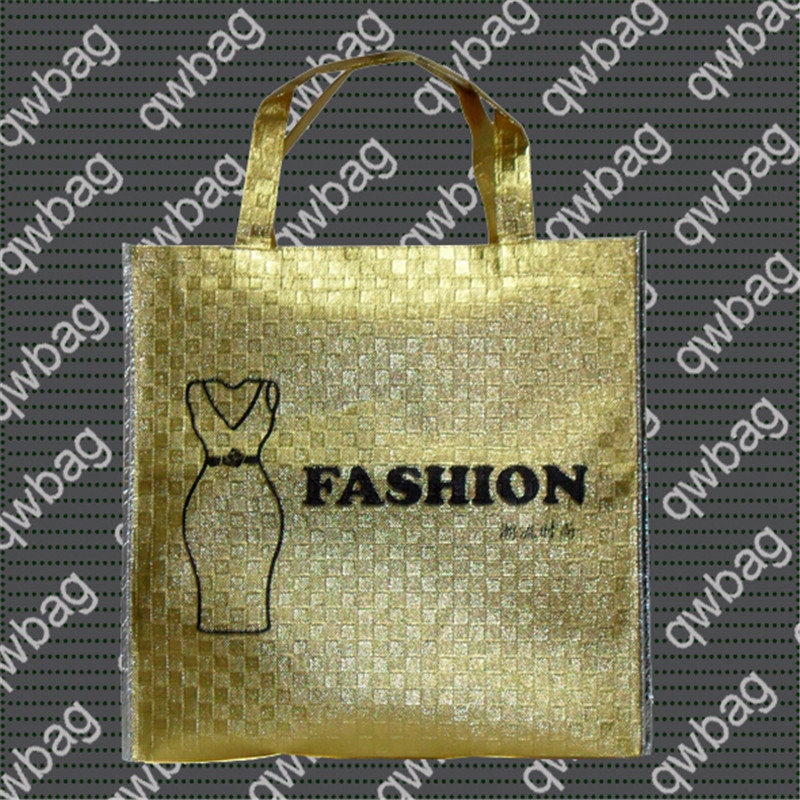Vertical Type Laminated PP Non Woven Tote Shopping Bag
