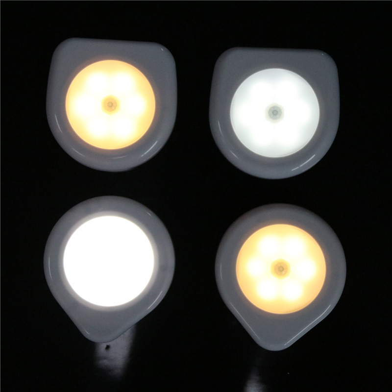 6 LED sensor light