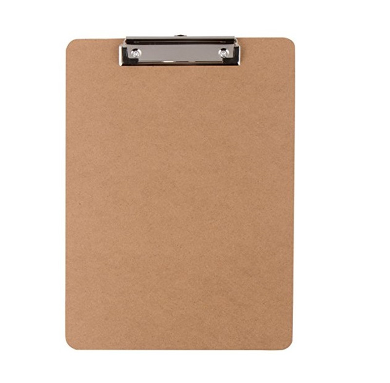 Letter Size MDF Clipboard
