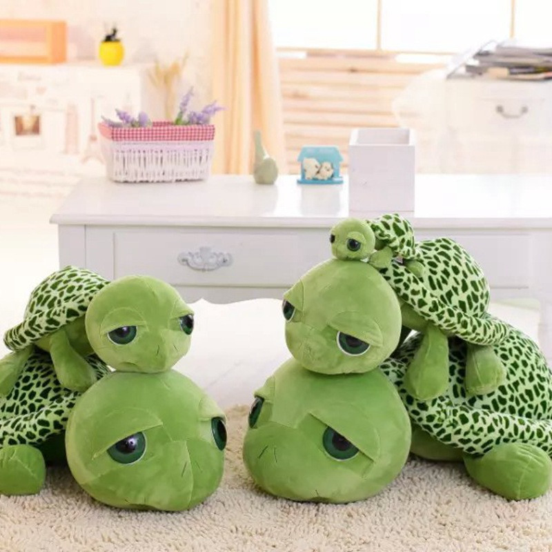 Custom logo Turtle plush toy