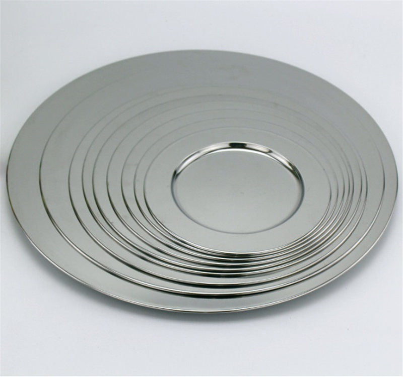 Stainless Plate decorative mirror plate