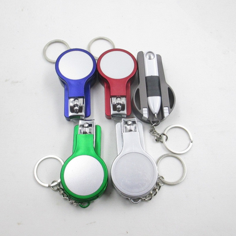 Multi-function Keychain Nail clipper set