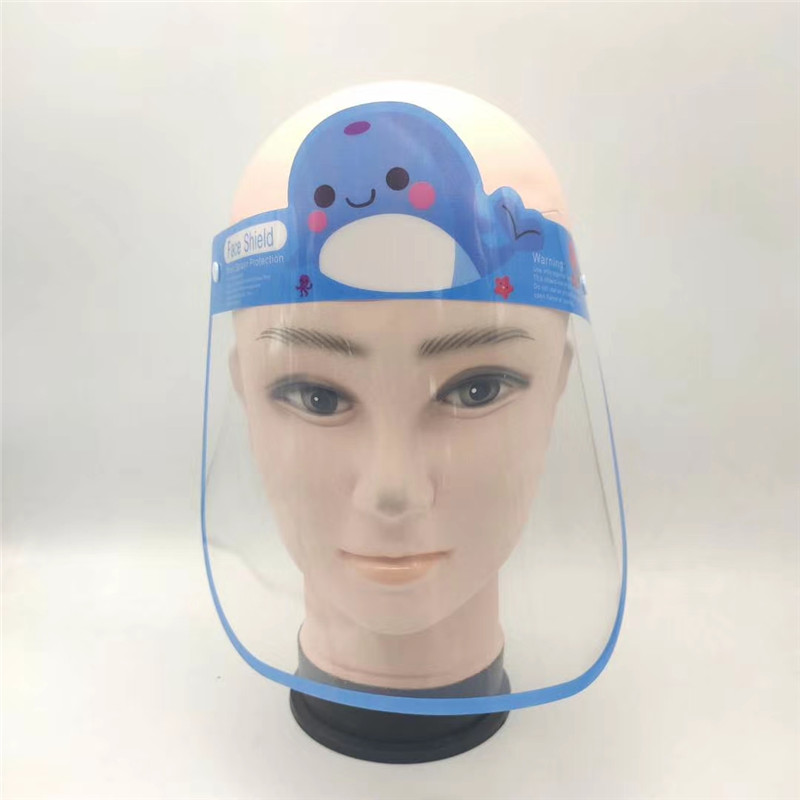 Transparent Anti-fog PET Face shield for Child